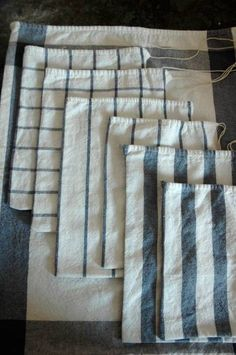 Easy gift bags from Ikea towels