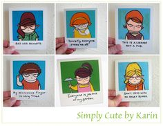 funny girl cards