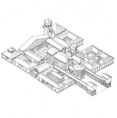 Design for a School at St Quentin en Yvelines by Leon Krier.