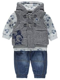 Super Baby Outfits Disney Mickey Mouse 30 Ideas S Winter Baby Clothes, Trendy Baby Clothes, Stylish Clothes, Kids Fashion Show, Toddler Fashion, Toddler Boy Outfits, Kids Outfits, Disney Baby Outfits, Disney Baby Clothes Boy