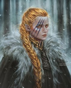 f Bard barbarian NG Medium Armor Cloak Conifer Forest Winter Snow Wilderness Mustang the Gold girl who sang the forbidden song of the Red med Fantasy Girl, Fantasy Warrior, Fantasy Rpg, Fantasy Women, Medieval Fantasy, Fantasy Artwork, Final Fantasy, Fantasy Inspiration, Character Inspiration