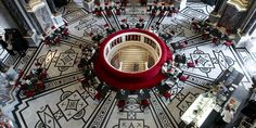 Café Kunsthist. Museum Halle, Kunsthistorisches Museum Wien, Vienna, Fair Grounds, Projects, Fine Dining, Classic, Log Projects, Hall