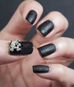 Nails Inc Leather and Skulls Swatches and Review | A Polish Addict
