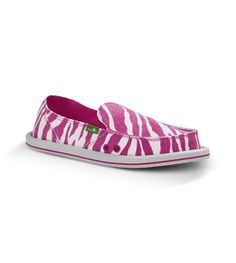 Another great find on Fuchsia Zebra I'm Game Slip-On Shoe - Women