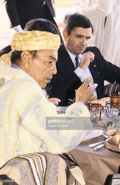 Morocco, King Hassan Ii In 1983