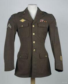 미국 공군 에어포스 5연대의 작업복, M1939