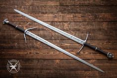 Get html color code Fantasy Sword, Fantasy Weapons, Swords And Daggers, Knives And Swords, The Witcher Game, Viking Sword, Medieval Weapons, Weapon Concept Art, Cold Steel