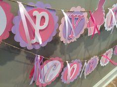 Cupcake Birthday Banner by TookiesLLC on Etsy