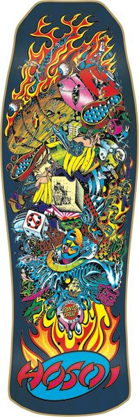 Santa Cruz Hosoi Collage Skateboard Deck 10 x 30.1