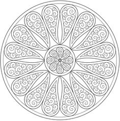 paisley mandala coloring page sample dover publications doodle Adult Coloring Pages, Mandala Coloring Pages, Colouring Pages, Printable Coloring Pages, Coloring Sheets, Coloring Books, Mandalas Painting, Mandalas Drawing, Mandala Art