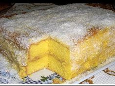 Portuguese Desserts, Portuguese Recipes, Baking Recipes, Cake Recipes, Dessert Recipes, Sweet Cakes, I Love Food, Yummy Cakes, No Bake Cake