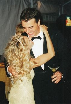 kiss-meyou-fool:  lastnightidreamtsomebodylovedme:  As much as I always preferred Aidan, I have to admit Carrie and Mr Big were reallymade for one another!