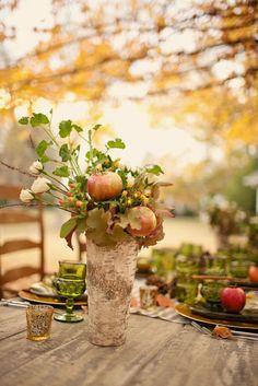 INSPIRACIÖN PARA UNA MESA DE OTOÑO / AUTUMN TABLESCAPE INSPIRATION | desde my ventana | blog de decoración |