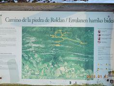 Menhir de Erroldan en Aralar, Sakana, Navarra