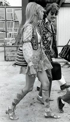 Pattie Boyd and George Harrison (Photo: All Over)