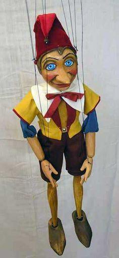 Pinocchio , Czech marionette puppet