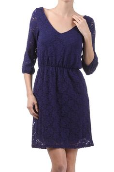 Midnight Lace Dress from Everly