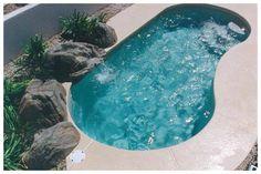 Bean Shaped Swimming Pool http://www.prefabpool.in/bean-shaped-swimming-pool.html
