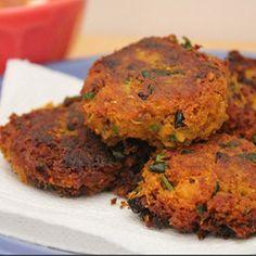 Sweet Potato Pakora, Recipe, Indian Food recipe, Vegetarian recipe