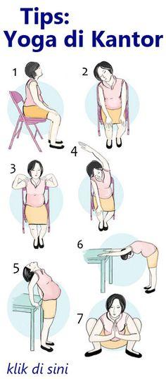 Yoga sederhana ini akan membantu mengusir pegal, rasa lelah berlebih dan ketegangan, juga akan meningkatkan kekuatan dan fleksibilitas otot Anda.
