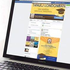 Facebook page design for the TANULJ LONDONBAN company. www.s-z-design.com #facebook #design #graphicdesign #graphic #learn #study #london #hnd #bigben #tube #follow