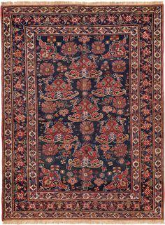 Schuler Auktionen Zürich  |  Afshar SO-Iran, um 1900  125x170 cm (ft. 4.1x5.6).
