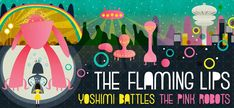 yoshimi battles the pink robots poster - Google Search