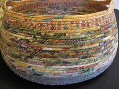 this is gorgeous  looks like woven with colorful yarn or somehting