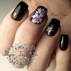 Nails Only, Get Nails, Pink Nails, Hair And Nails, Black Nail Designs, Toe Nail Designs, Creative Nail Designs, Creative Nails, Gorgeous Nails