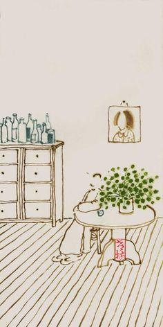 1.19.岁末又逢大寒,安坐独享清闲。室内一钵新绿,心中春色无边。