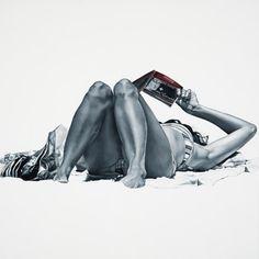 Marta Penter - Otium Oil on canvas - Immersion