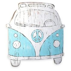 Check out this item at One Kings Lane! Peace Bus Wall Decor