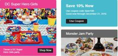 Enjoy off with Latest Birthday Express Coupons & Promo Codes May, 2018 Birthday Coupons, Late Birthday, Express Coupons, Dc Super Hero Girls, Monster Jam, Coupon Codes, Coding, Party, Parties