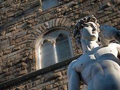 Statua del David (Michelangelo) - Piazza della Signoria - Firenze