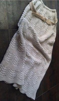 Длинная юбка спицами. Обсуждение на LiveInternet - Российский Сервис Онлайн-Дневников