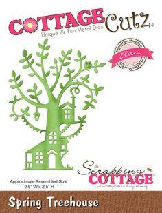 CottageCutz Spring Treehouse (Elites)