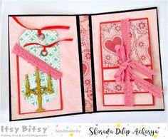 HappyMomentzz crafting by Sharada Dilip: Romantic/love/anniversary handmade personalised albums/scrapbooks