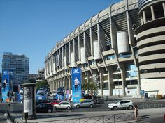 Real Madrid stadium (also have a pic like this)