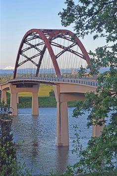 Sauvie Island Bridge, Portland, Oregon