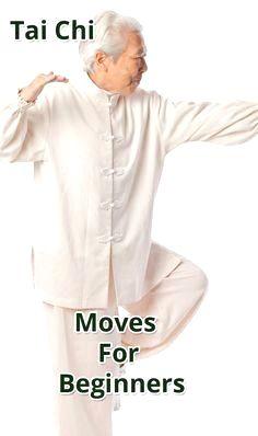 Exercise For Beginners Tai Chi Moves For Beginners. Senior Fitness, Fitness Tips, Health Fitness, Easy Fitness, Group Fitness, Tai Chi For Beginners, Workout For Beginners, Tai Chi Moves, Tai Chi Exercise