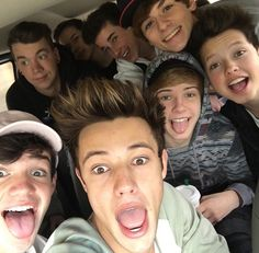 Magcon with Aaron ❤️