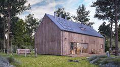 dom UNIWERSALNY – nowoczesna STODOŁA | wnętrza & DESIGN | projekty DOMÓW | dom STODOŁA