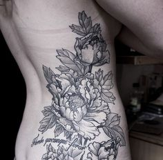SONY DSC - 50 Peony Tattoo Designs and Meanings | Art and Design