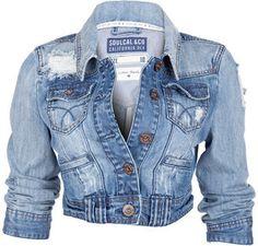 The kind of denim jacket I want :)
