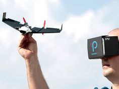 Experience flight from a first person view paper airplane drone with a LIVE…