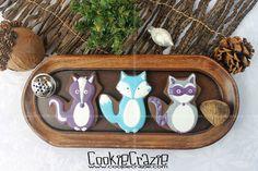 Winter Woodland Animal Cookies (Tutorial) — CookieCrazie