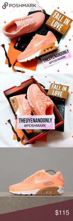 💠NEW💠 NIKE Air Max 90 Orange Neon 💠NEW WITH BOX (No Lid) 💠WOMEN'S SHOES 💠100% Authentic  💠NO TRADE  💠Accept Reasonable Offer ONLY 💠SHOES ONLY. Other accessories in the cover pic are not included. Price firm during sale 💠 RUDE COMMENTS will be reported directly to Poshmark 💠Please note: Colors might appear a bit darker OR lighter due to differences in phone/computer monitor Nike Shoes Sneakers
