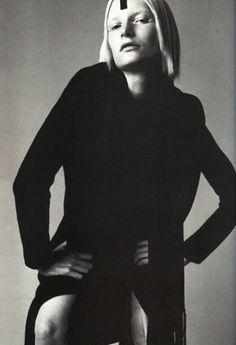 Kirsten Owen for Vogue Italia september 1997 by Steven Meisel