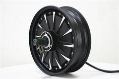 5000W 12inch Wheel Brushless motorcycle Motor