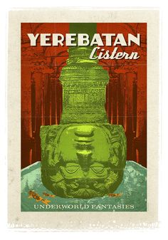 """Yerebatan Cistern / Istanbul  """"Preserve. Reserve. Serve ~ The life and times of Istanbul at the heart of historical center""""  www.armadaistanbul.com www.armadaistanbulculture.com"""